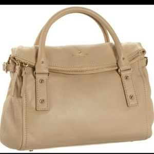 Kate Spade Cobble Hill Leslie Tan Leather Satchel